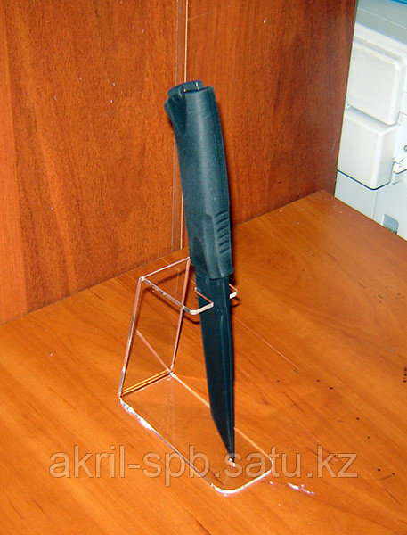 Подставка под ножи одинарная 50х123х125 мм