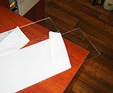 Поликарбонат монолитный 3 мм прозрачный, фото 3