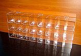 Диспенсер демонстратор 755х100х100 24 ячейки 3-х ярусный для конфет , фото 2