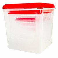 Набор больших контейнеров для хранения Chanel PLAST [5 шт.]