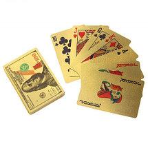 Колода игральных карт под золото Premium Gold Standard Poker, фото 3