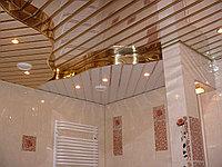 Реечный потолок белый матовый