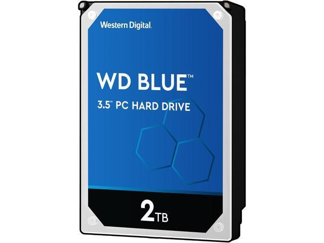 Жесткий диск HDD 2Tb Western Digital Blue WD20EZRZ