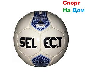 Футбольный мяч Select кожаный (размер 4) сшитый доставка