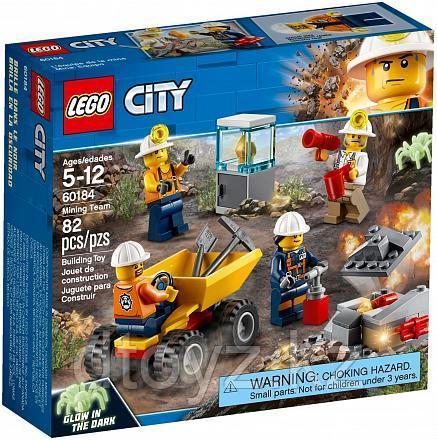 Lego City 60184 Бригада шахтеров, Лего Город Сити