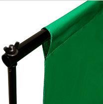 Студийный тканевый фон 6 м × 3 м зелёный, фото 3