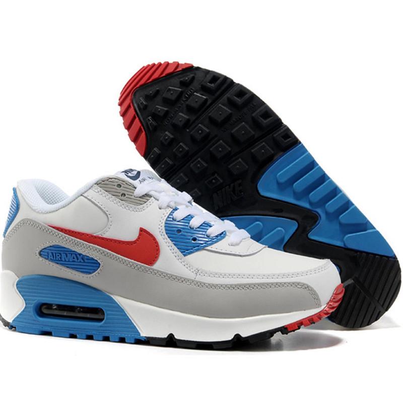 Кроссовки Nike Air Max 90 бело-серый