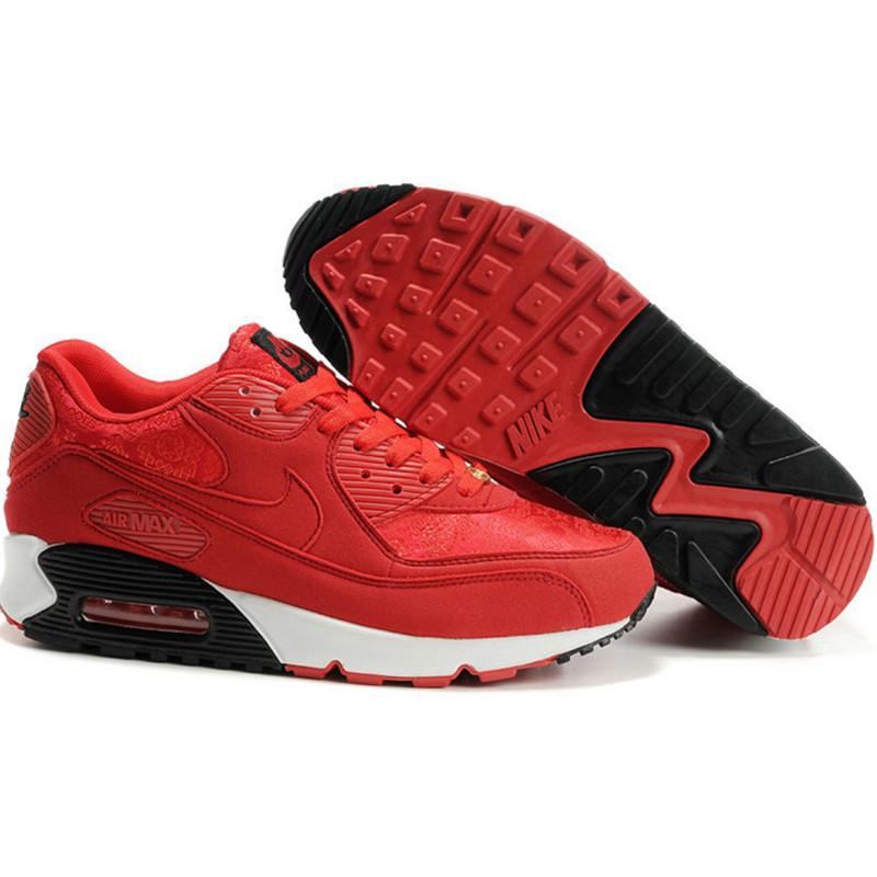 Nike Air Max 90 кроссовки красные