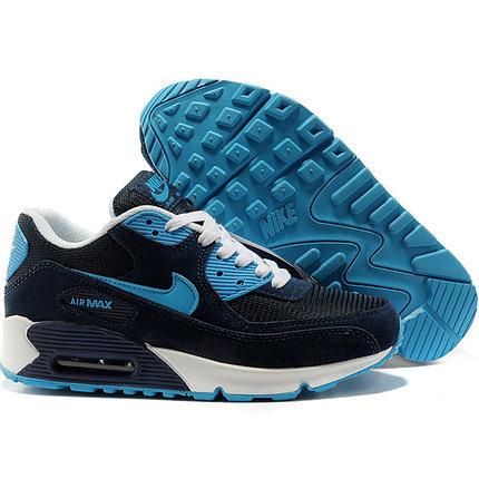 Nike Air Max 90 кроссовки синие, фото 2