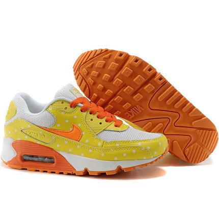 Nike Air Max 90 кроссовки желтые, фото 2