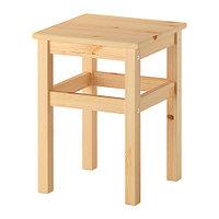 Табурет ОДВАР сосна ИКЕА, IKEA, фото 1