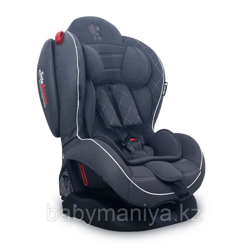 Автокресло Lorelli ARTHUR ISOFIX (BS02N-T) 0-25 кг Серый / Grey Leather 1838
