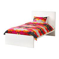 Кровать каркас МАЛЬМ 90х200 белый ИКЕА, IKEA, фото 1