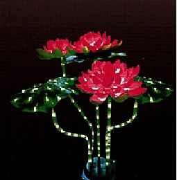 "Cветодиодное дерево "" Кувшинка"" светящийся лед цветок"