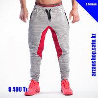 Зауженные штаны Gym Aesthetics светлые с красным