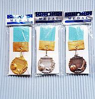 Медаль для футбола, рельефная, фото 1