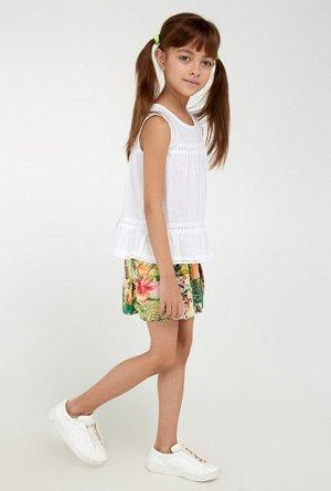 Блузка для девочки Dafna белый