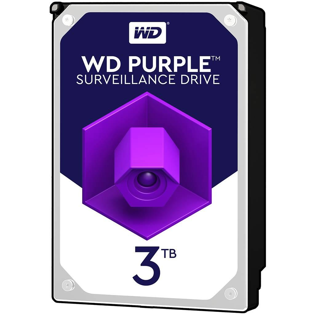 Жесткий диск для видеонаблюдения HDD 3Tb Western Digital Purple WD30PURZ