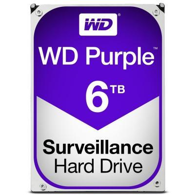 Жесткий диск для видеонаблюдения HDD 6Tb Western Digital Purple WD60PURZ