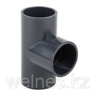 Тройник PVC (75х75х75 мм)