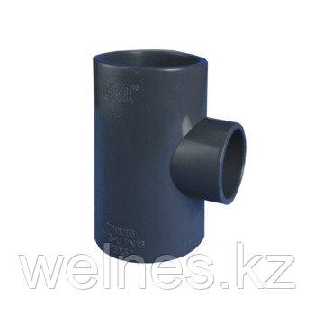 Тройник переходной PVC (75х63х75 мм)