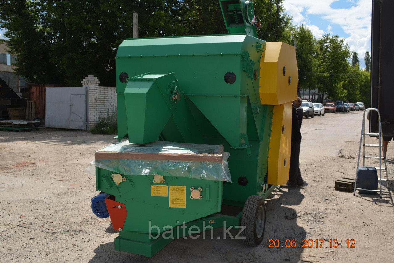 Мобильный зерноочистительный комплекс МЗК-70 (предварительная очистка)