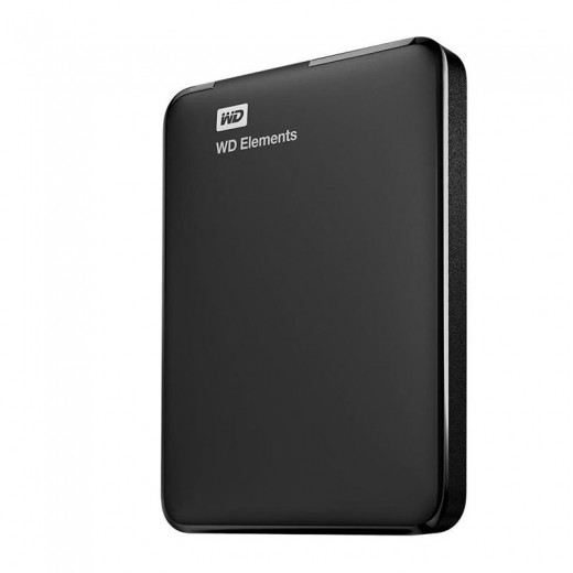 Внешний HDD Western Digital 1Tb Elements Portable WDBUZG0010BBK-WESN, Black