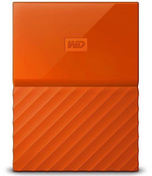 Внешний HDD Western Digital 2Tb My Passport WDBLHR0020BOR-EEUE