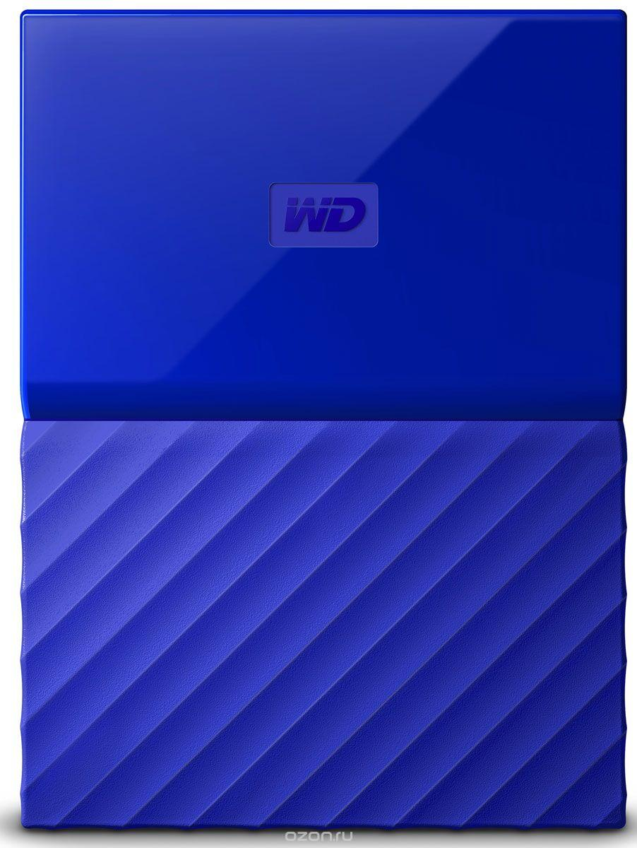 Внешний HDD Western Digital 2Tb My Passport WDBUAX0020BBL-EEUE