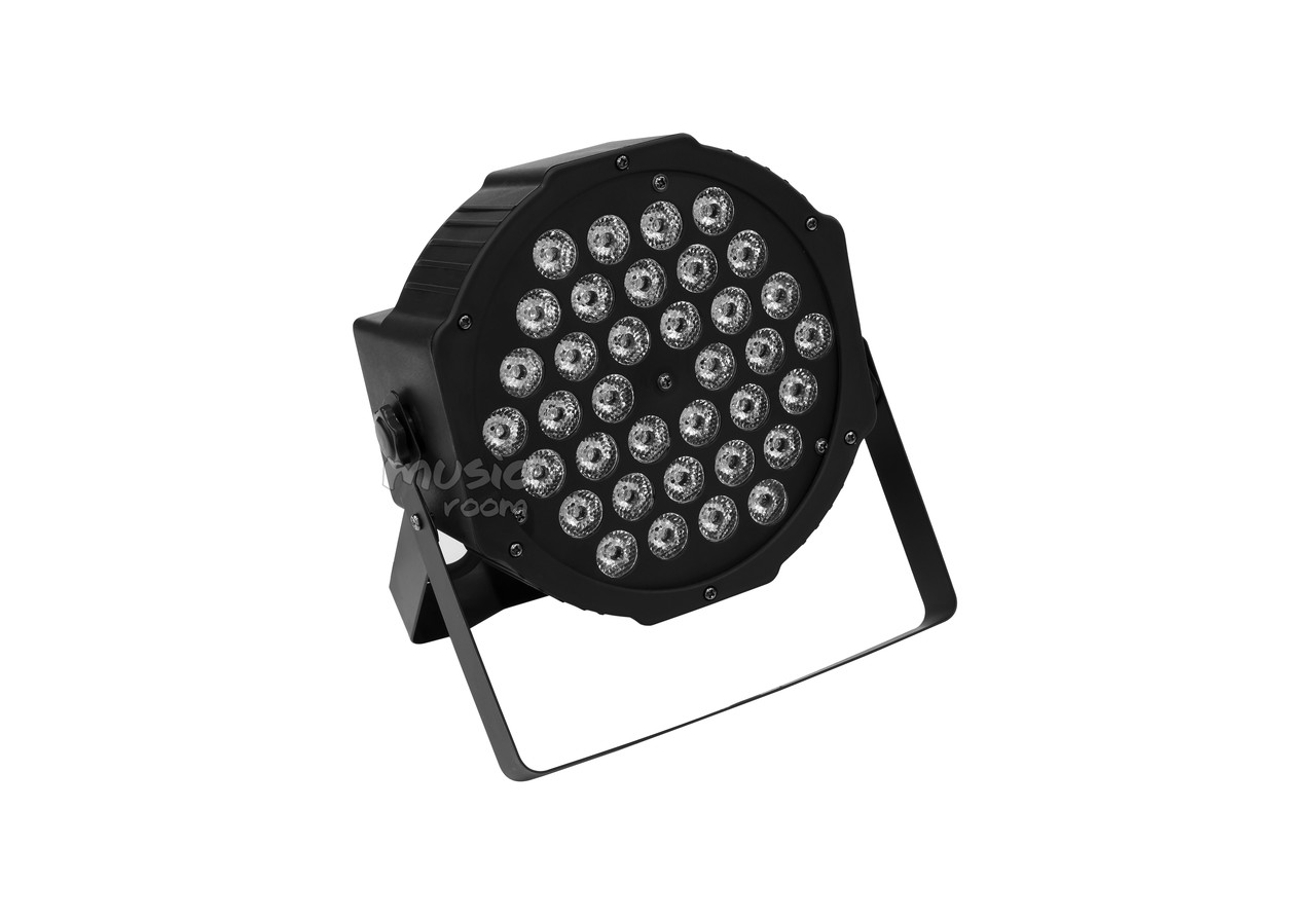 LED прожектор 36*3W mini flat par light