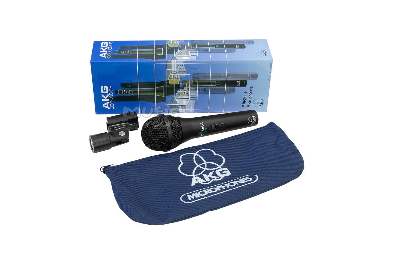 Вокальный микрофон AKG D660S