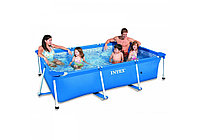 Каркасный бассейн Rectangular Frame Pool 220*150
