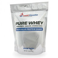Протеин Pure Whey Concentrate WPC 80% 454 гр, West Pharm.