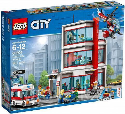 Lego City 60204 Городская больница, Лего Город Сити