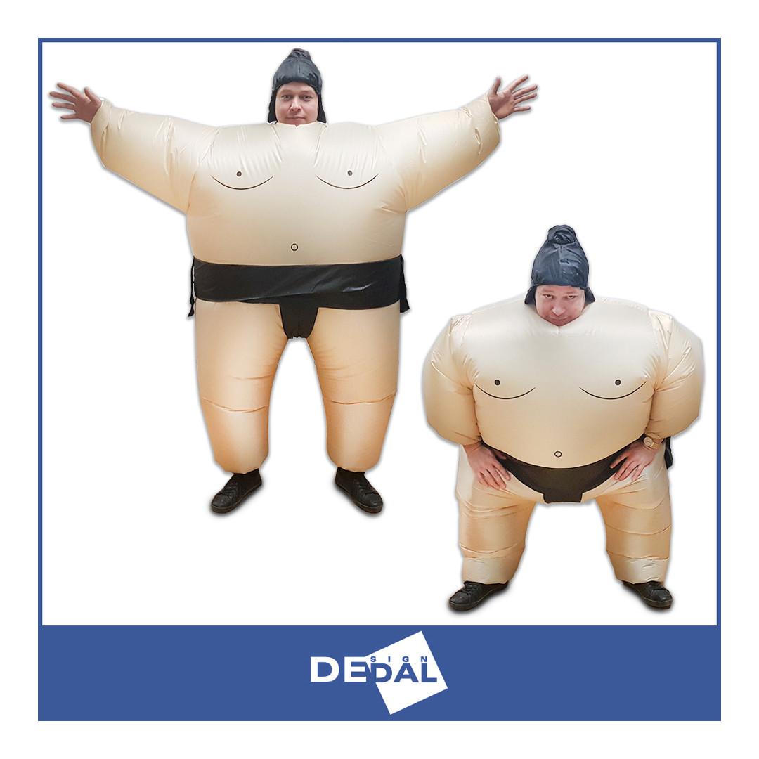 Прокат надувного костюма Сумоист