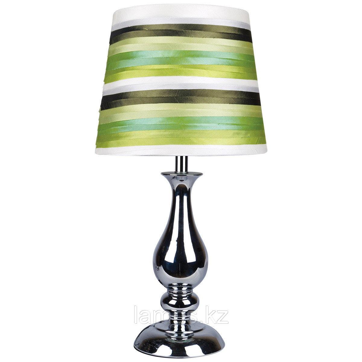 Настольная лампа T0023 SATIN FABRIC Green