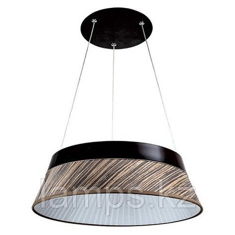 Люстра подвесная LED H0040SY 26W 2700K BLACK, фото 2