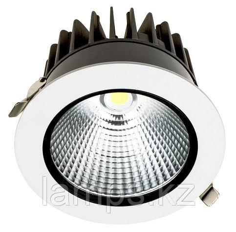 Светильник направленного света, светодиодный, потолочный LED P1 30W WH 3000K, фото 2