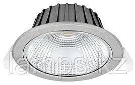Светильник направленного света, светодиодный, потолочный LED VESTA COB 20W SILVER 5000K