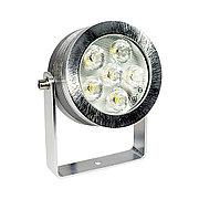 Светодиодный cветильник для фонтанного и наружного освещения R7300L-SPIKE LED 6X1W 4000K
