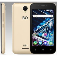 Смартфон BQ S-4028 UP! Gold 2sim, 4,0' TFT, 800480, 8Gb, 512Mb RAM, 5Mp2Mp