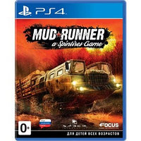 Игра для Sony PlayStation 4 Spintires MudRunner