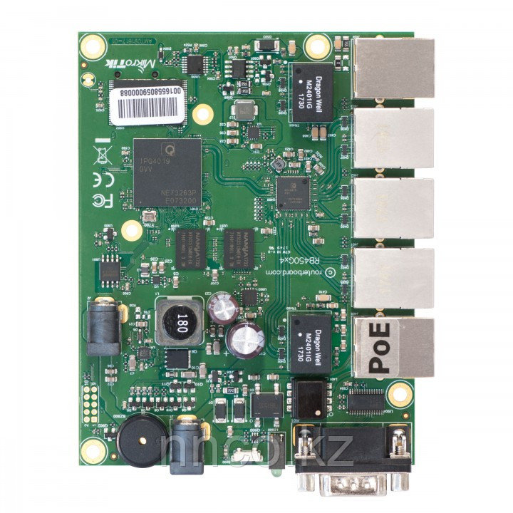Плата  MikroTik RouterBoard RB450Gx4