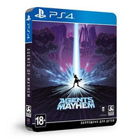 Игра для Sony PlayStation 4 Agents of Mayhem STEELBOOK ИЗДАНИЕ