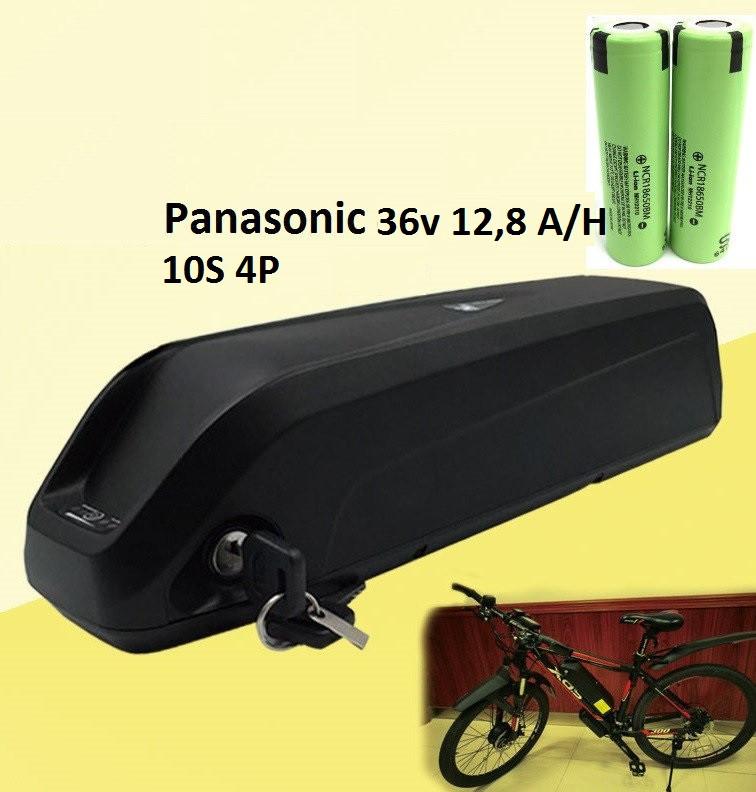Аккумулятор Li-ion 36v 12,8 A/H + зарядн. устройство 36 v. Вес 3,5 Кг. Для моторов до 500w