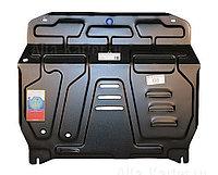Защита картера двигателя и кпп на Volkswagen Polo/Фольксваген Поло 2010-