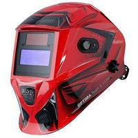Маска сварщика FUBAG OPTIMA TEAM 9-13 RED, хамелеон, 9-13 Din, экран 95х36, 100 УФ/ИК