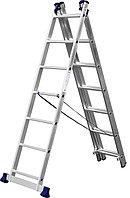 Лестница СИБИН универсальная, трехсекционная  со стабилизатором (Лестница СИБИН универсальная, трехсекционная со стабилизатором, 7 ступеней)