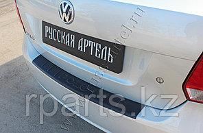 Накладка на задний бампер Volkswagen Polo V