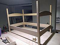 Изготовление мебели на заказ из массива древесины.